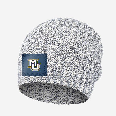Marquette Golden Eagles Navy Speckled Beanie