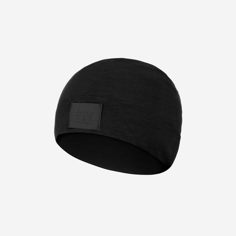 Black Baby Supima Cotton Beanie
