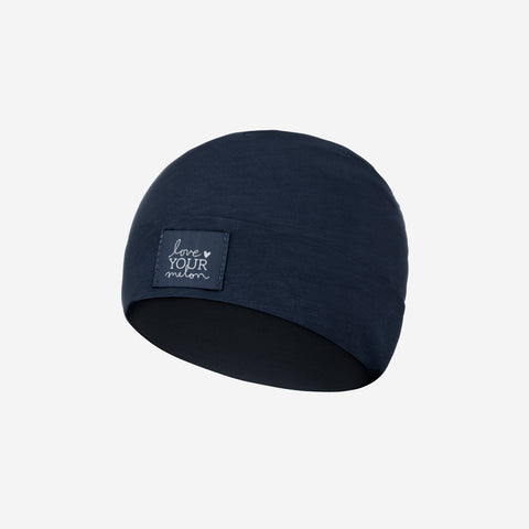 Navy Baby Supima Cotton Beanie