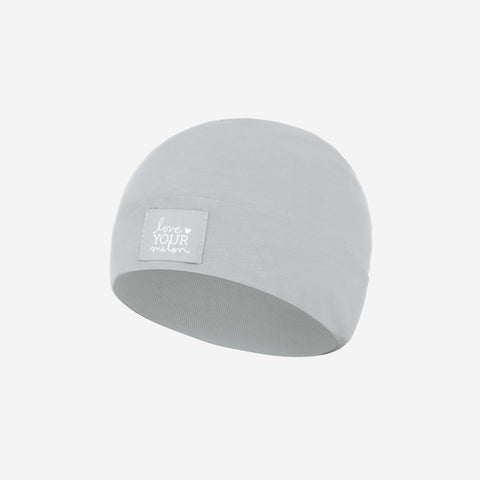 Light Gray Baby Supima Cotton Beanie