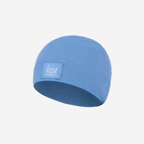 Light Blue Baby Supima Cotton Beanie