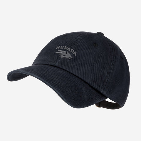University of Nevada - Reno Black Denim Wash Cap
