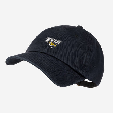 Towson University Black Denim Wash Cap