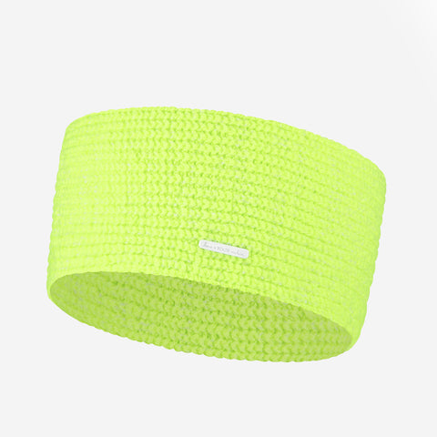 Neon Yellow Cashmere Headband