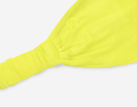 Neon Yellow Athletic Headband