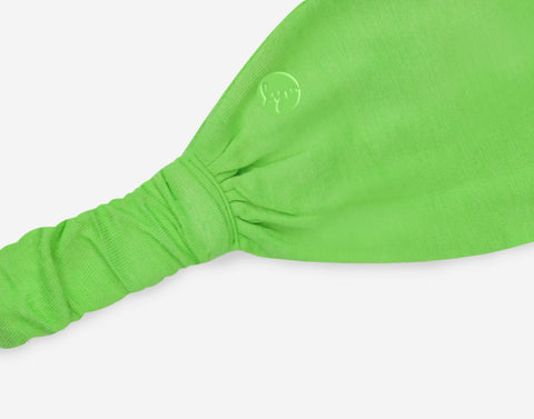 Neon Green Athletic Headband