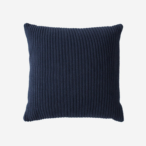 Navy Knit Throw Pillow-Accessory-Love Your Melon