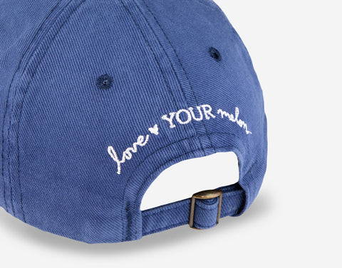 Love Your Melon Woodstock Navy Washed Denim Cap