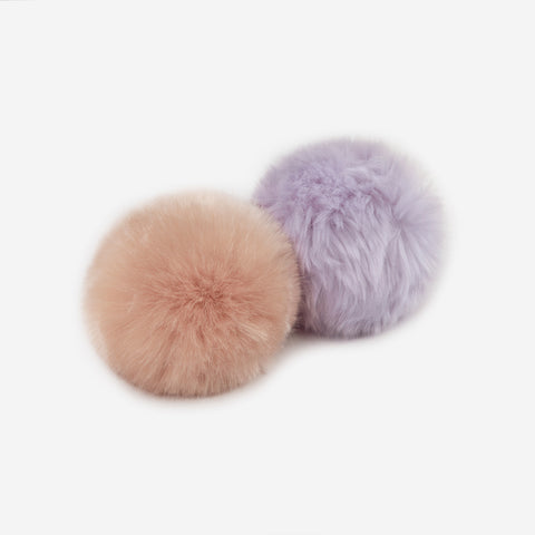 Light Pink and Light Purple Pom Pack