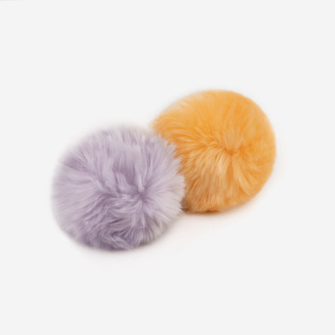 Light Purple and Cantaloupe Pom Pack