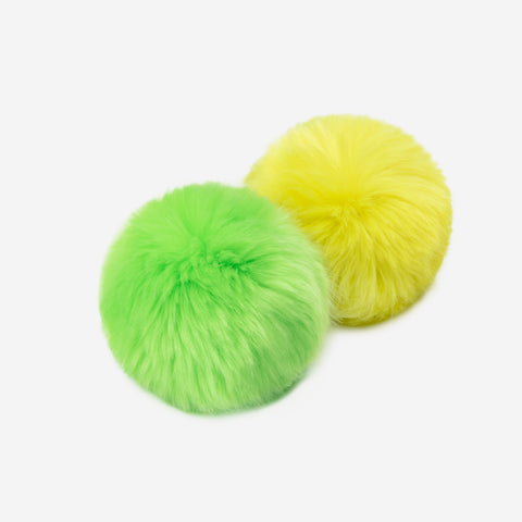 Neon Green and Neon Yellow Pom Pack