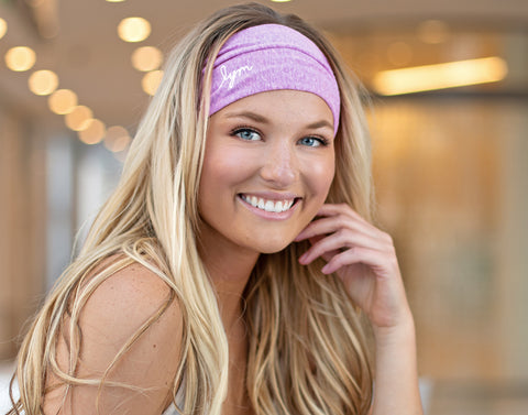 Purple Tri-Blend Headband-Accessory-Love Your Melon