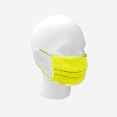 Neon Yellow Reflective Mask