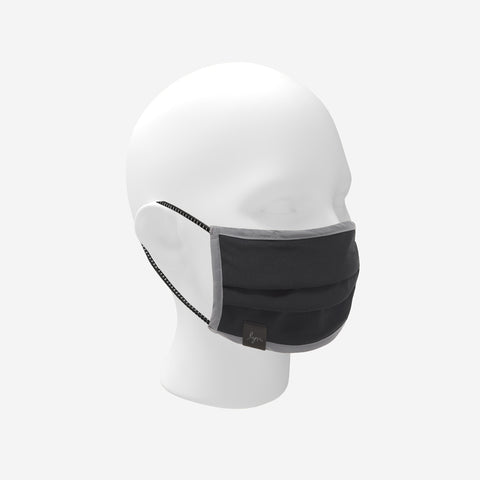 Dark Charcoal Reflective Mask