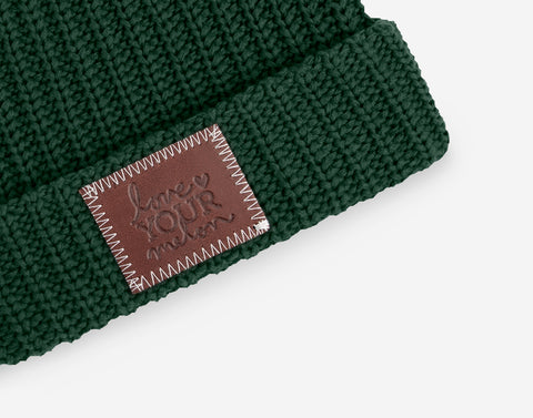 Hunter Double Pom Beanie with Pom Pack