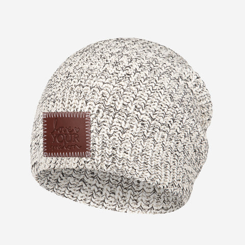 Black Speckled Lightweight Beanie