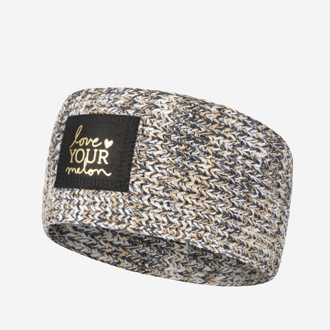 Rock Gold Foil Knit Headband