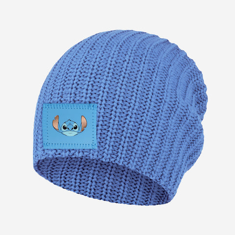 Stitch Soft Blue Beanie