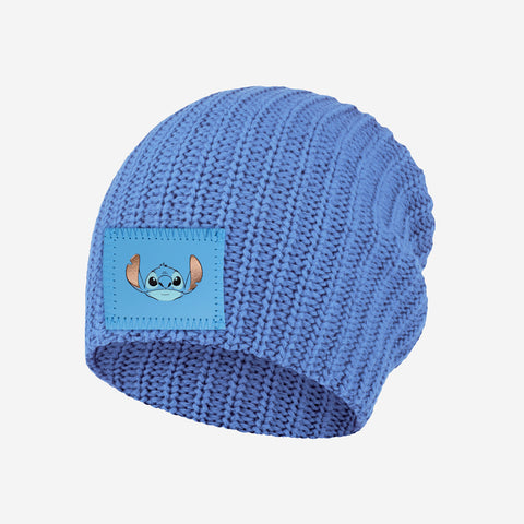 Stitch Kids Soft Blue Beanie
