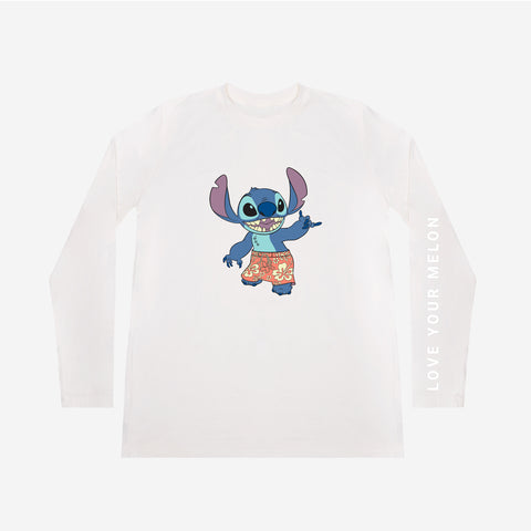 Stitch White Long Sleeve