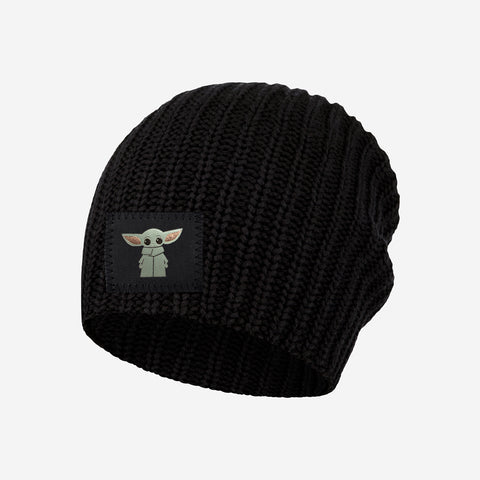 Star Wars The Child Kids Black Beanie