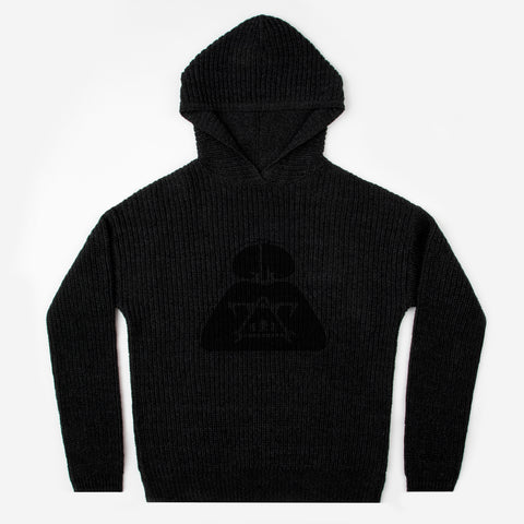 Pre-Order Star Wars Darth Vader Black Knit Hoodie