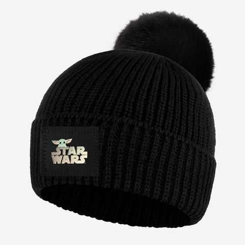 Pre-Order Star Wars and The Child Adult Lightweight Pom Beanie