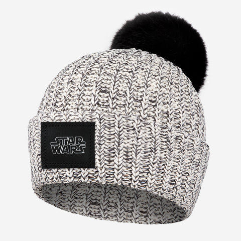 Star Wars Black Speckled Pom Beanie