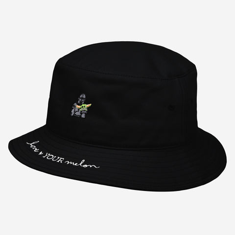 Star Wars Mandalorian and The Child Black Bucket Hat