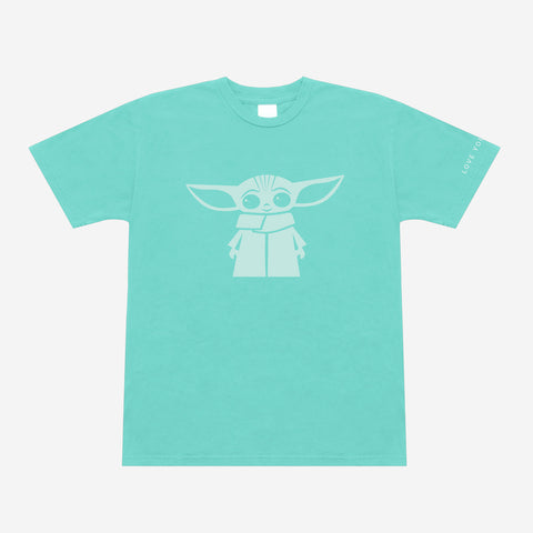Star Wars The Child Mint Short Sleeve T-Shirt