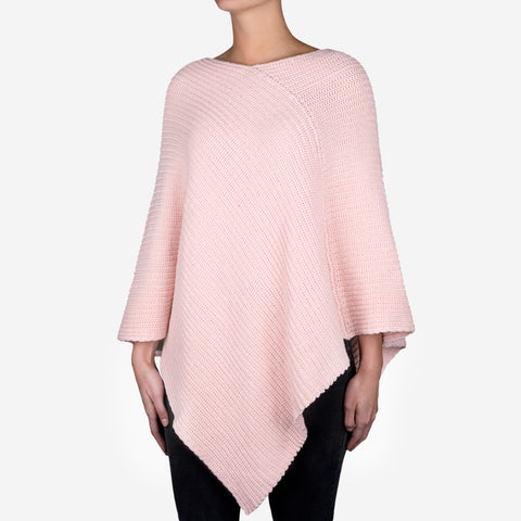 Blush Knit Shawl
