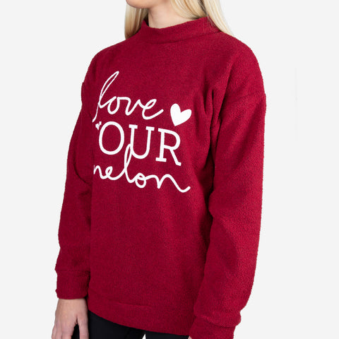 Crimson Woolly Threads Sweatshirt