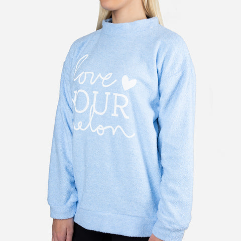 Unisex Light Blue Woolly Threads Sweatshirt