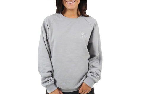 Apparel - Light Gray LYM Classic Crew Sweatshirt