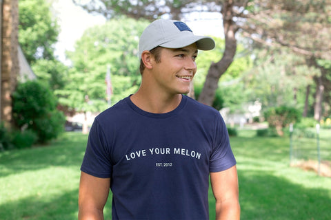 Navy LYM Est. Tee-Apparel-Love Your Melon