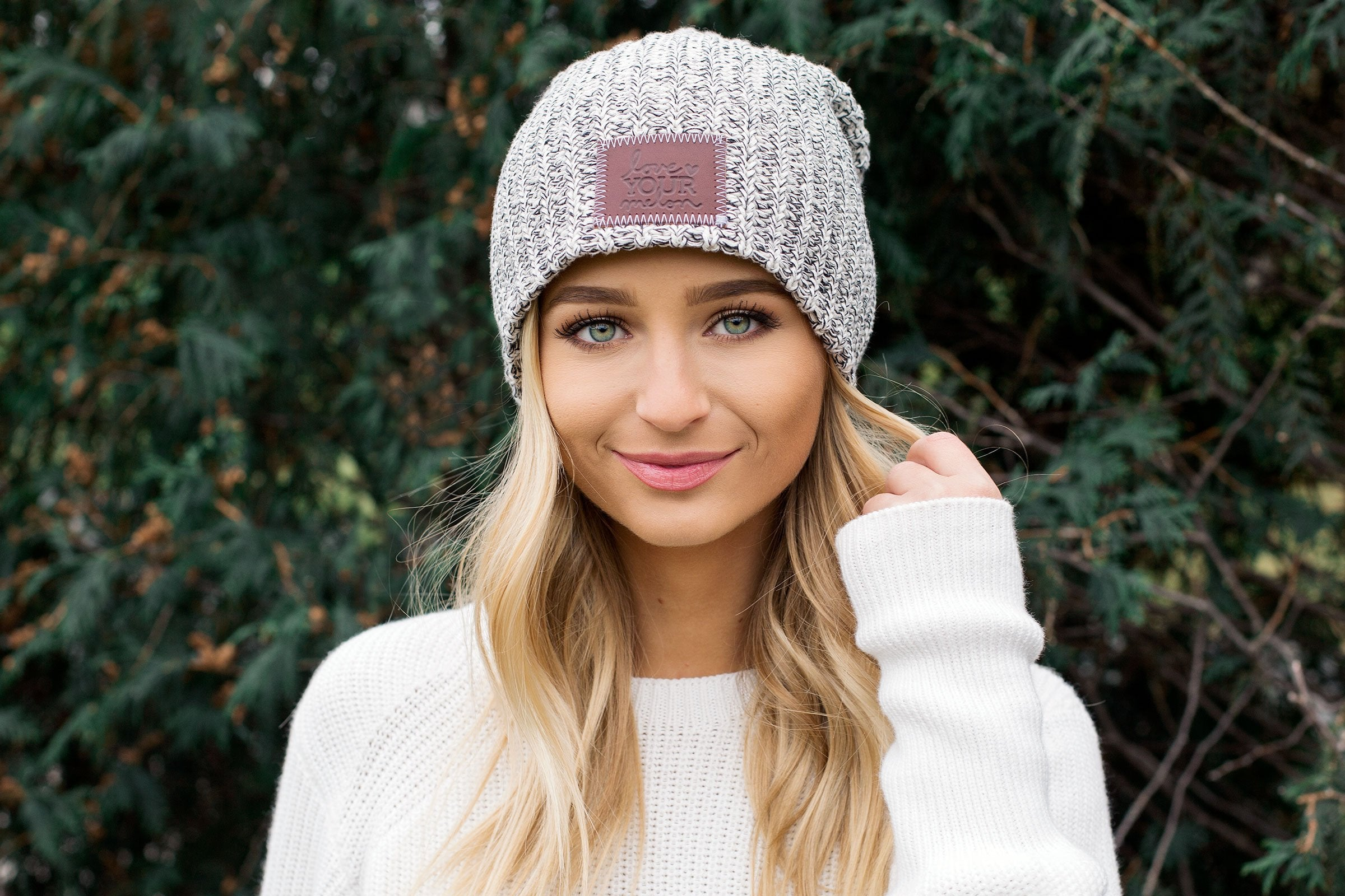 Black Speckled Beanie Wholesale