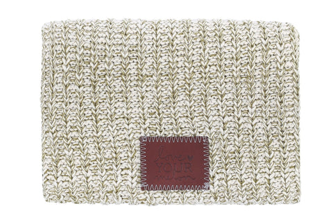 Beanie - Olive Speckled Beanie