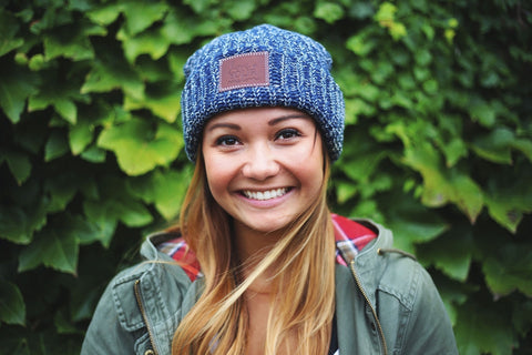 Summit Speckled Cuffed Beanie-Beanie-Love Your Melon