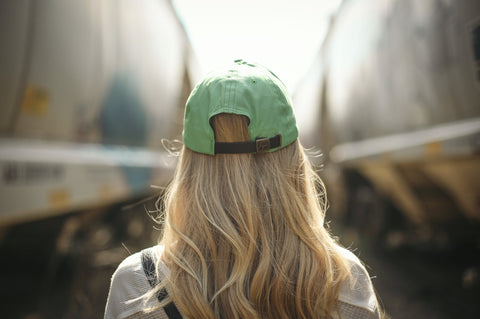 Spring Green Cap - Cursive Logo-Cap-Love Your Melon