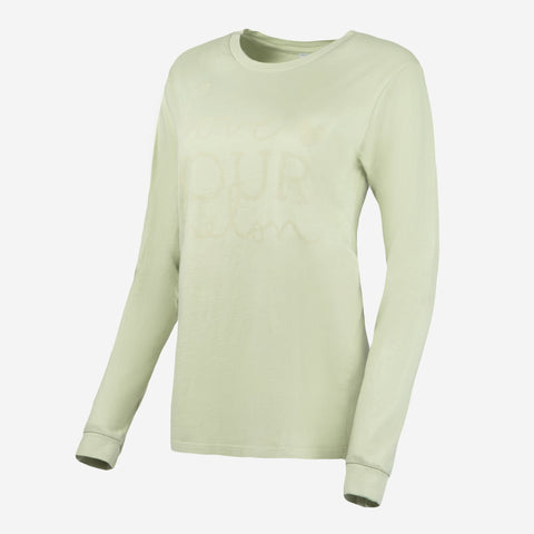 Celadon Green Classic Long Sleeve-Apparel-Love Your Melon
