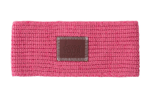 Knit Headband - Rose Knit Headband