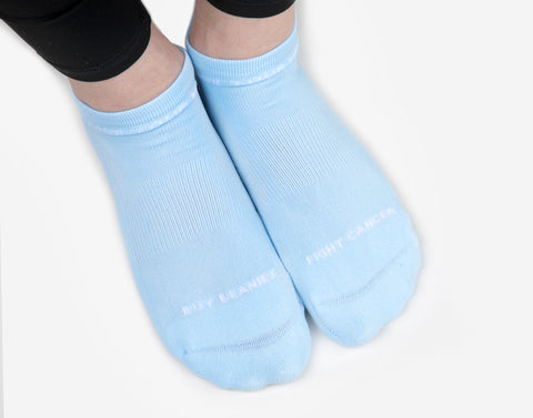 Light Blue Ankle Socks