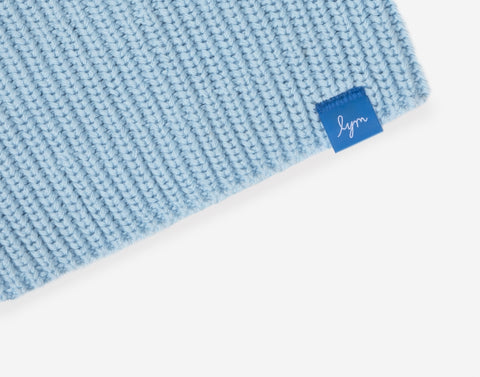 Kids Light Blue Lightweight Beanie-Beanie-Love Your Melon