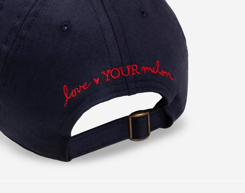 Navy Needlepoint USA Cap-Crew Cap-Love Your Melon