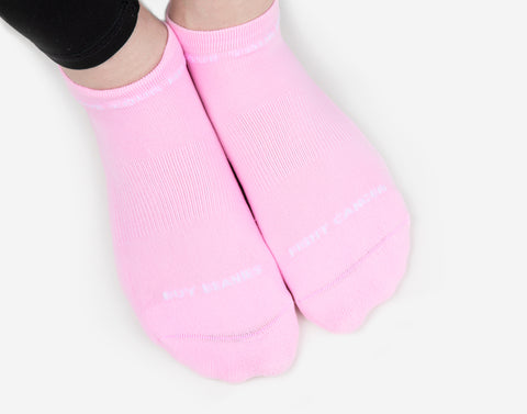 Light Pink Ankle Socks