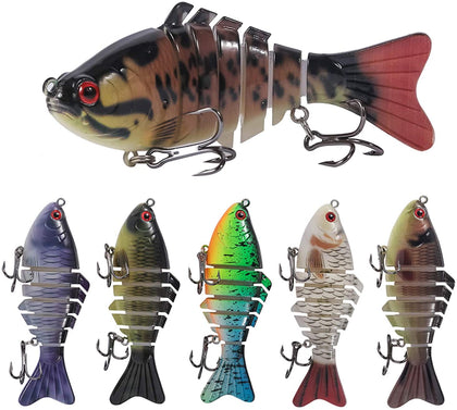 Multi Jointed Lures