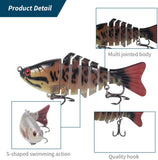 Multi Jointed Fish Lures