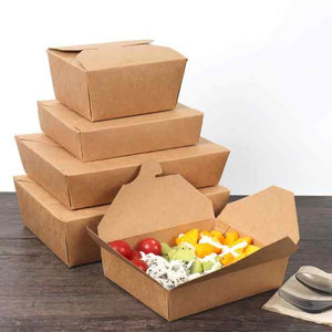 Container - Paper Take Out Box