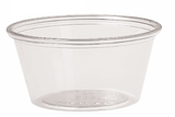 Container - Plastic Portion Cups and Lids