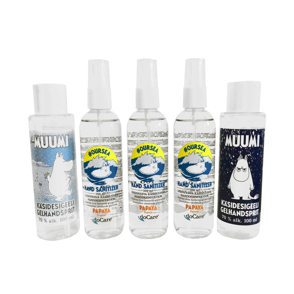 Moomin® Hand Sanitizer Pack | #OURSEA + Winter Edition